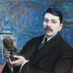 Leon Wyczółkowski, portret profesora Stanisława Szwarca, 1911, Muzeum Narodowe w Kielcach