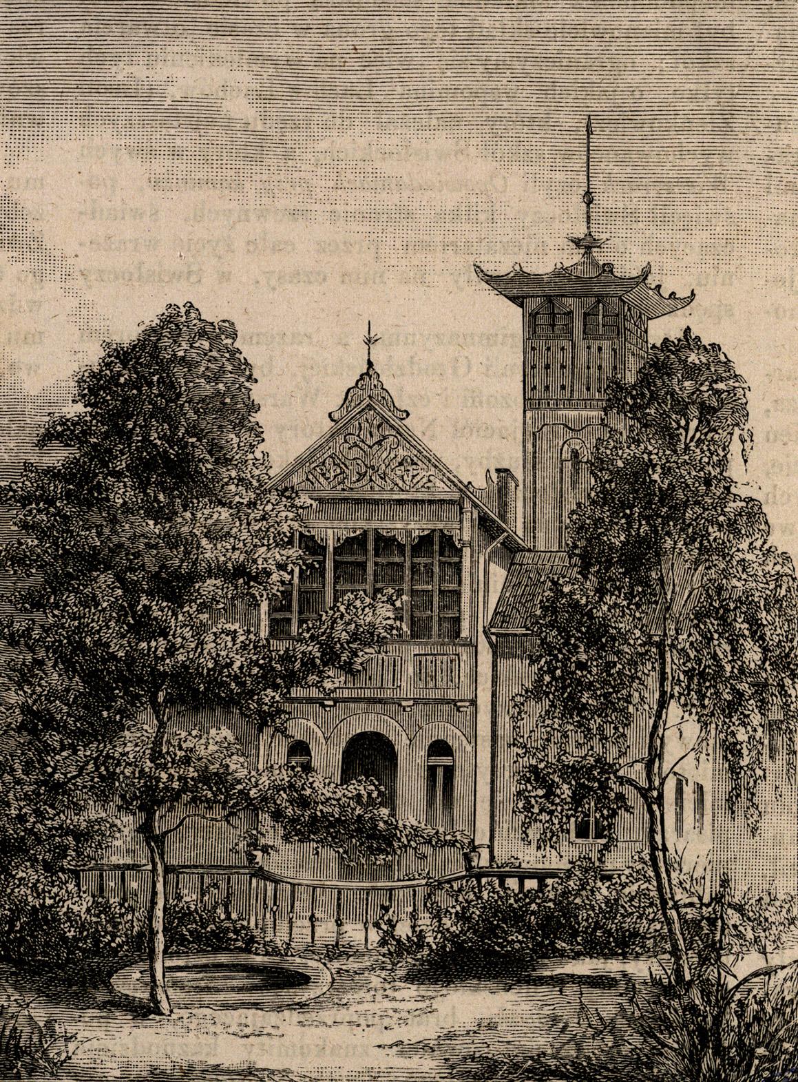 Drezno - dom Kraszewskiego