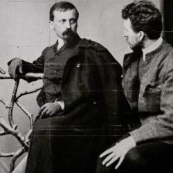 Sienkiewicz H. i K. Pochwalski ok. 1886 r.