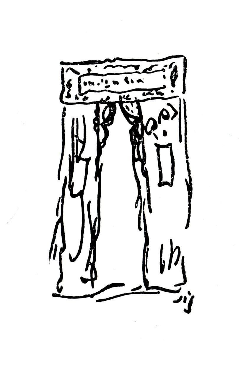 Sienkiewicz H. rysunek wliście Bebek 5 XI 1886 r.