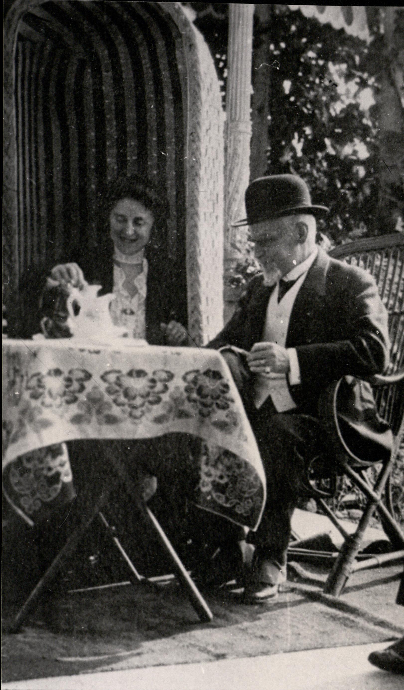 H. iM. Sienkiewiczowie wVevey w1914 r. zezb. Janczewskiego