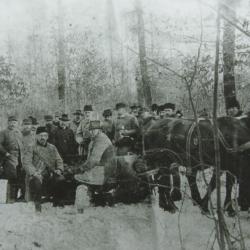 Henryk Sienkiewicz na polowaniu, Pałacyk Henryka Sienkiewicza w Oblęgorku - oddział Muzeum Narodowego w Kielcach