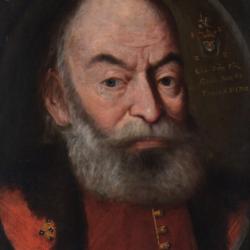 Portret pośmiertny Samuela Zborowskiego, 1702, Muzeum Narodowe w Kielcach