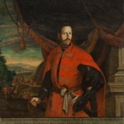 Antoni Józef Misiowski, Portret Aleksandra Jana Jabłonowskiego, 1740, Muzeum Narodowe w Kielcach