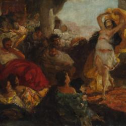 Maurycy Gottlieb, Taniec Salome, ok. 1879, Muzeum Narodowe w Kielcach