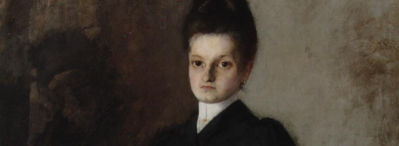 Olga Boznańska, Amazonka, 1891, Muzeum Narodowe w Kielcach