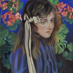 Stanisław Wyspiański, Portret Elizy Pareńskiej, 1905, Muzeum Narodowe w Kielcach